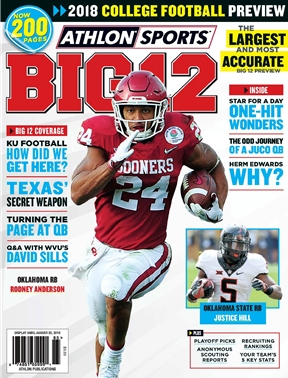Athlon Sports - Big 12 Football 2018