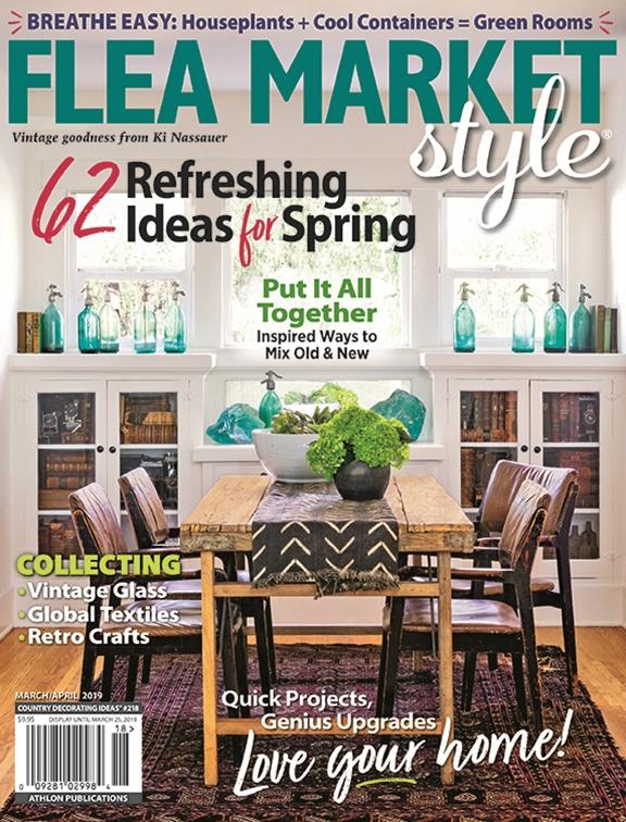 Astonishing Flea Market Style Mar Apr 2019 218 Home Interior And Landscaping Oversignezvosmurscom