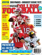 Athlon Sports - National College Football 2019