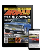 MOPAR ACTION DIGITAL SUBSCRIPTION